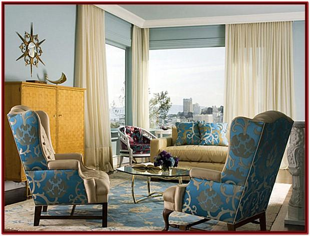 Blue Grey And White Living Room Ideas