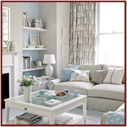 Blue Grey Living Room Decor