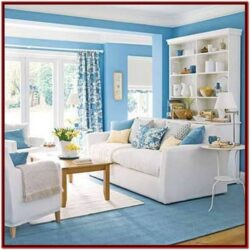 Blue Living Room Theme