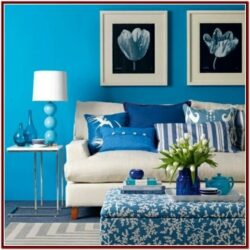 Blue Living Room Walls