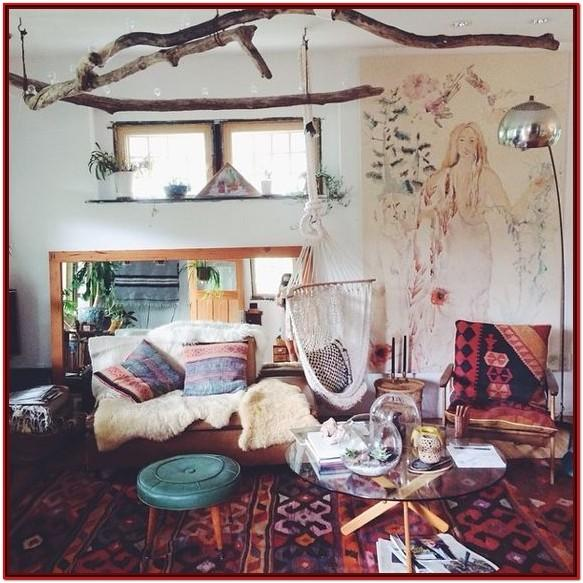 Boho Living Room Decor Pinterest