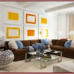 Brown And Blue Living Room Designs