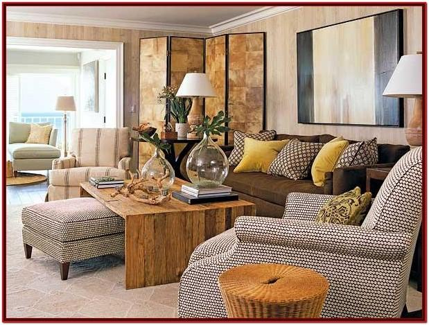 Brown And Red Living Room Decor Ideas