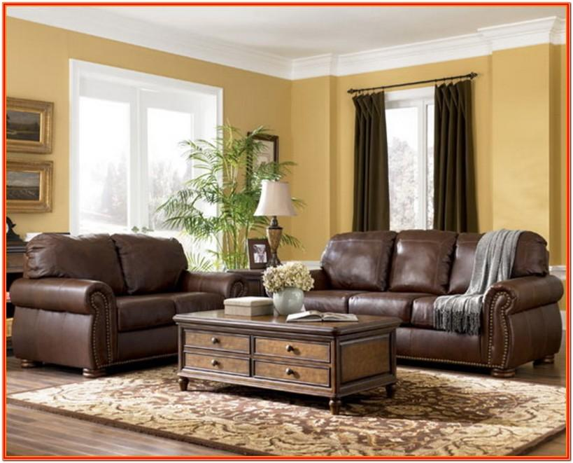 Brown Couches Living Room Design