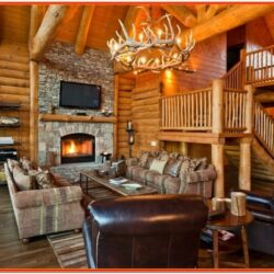 Cabin Living Room Decor Ideas
