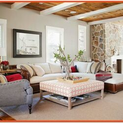 Cabin Living Room Decorating Ideas