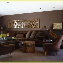 Chocolate Brown Living Room Decorating Ideas