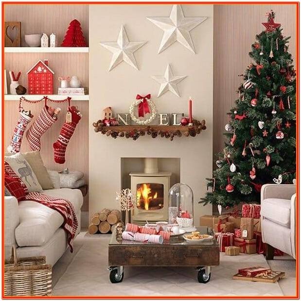 Christmas Decor Living Room