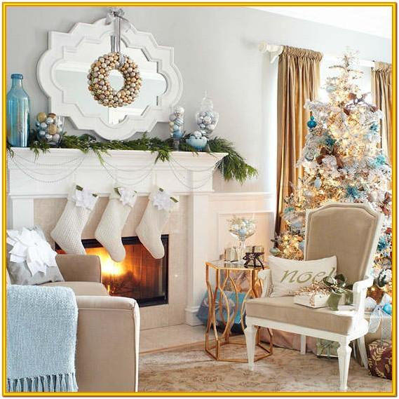 Christmas Decoration Ideas For Living Room