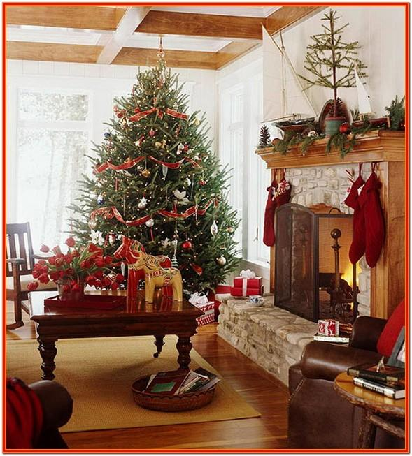 Christmas Decorations Living Room Pictures