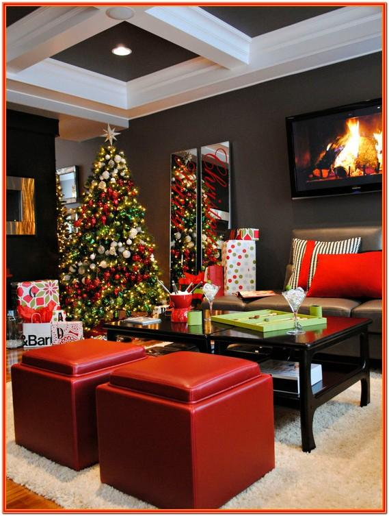 Christmas Theme Living Room