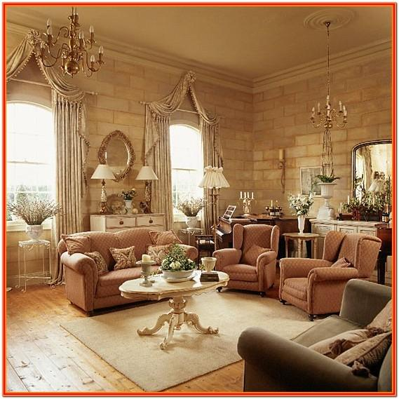 Classic Living Room Interior Design