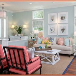 Coastal Decor Living Room Furniture