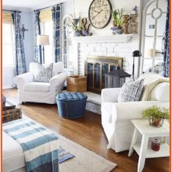 Coastal Farmhouse Decor Living Room