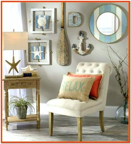 Coastal Living Room Wall Art
