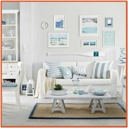 Coastal Themed Living Rooms