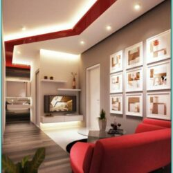 Contemporary Modern Living Room Wall Decor Ideas