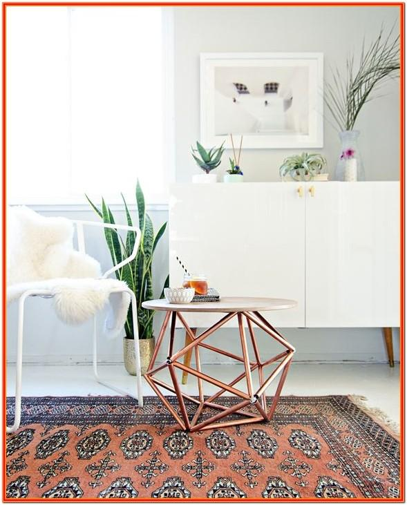 Copper Effect Living Room Accessories