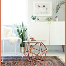 Copper Living Room Accessories