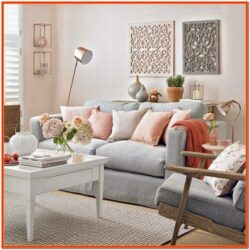 Copper Living Room Decor Ideas