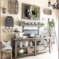 Country Farmhouse Living Room Wall Decor