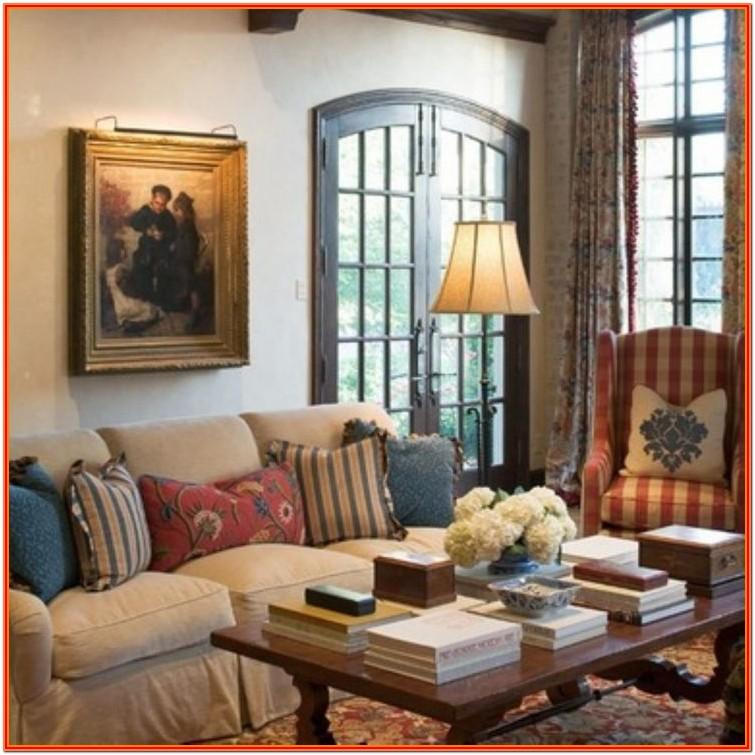 Country Living Room Accessories
