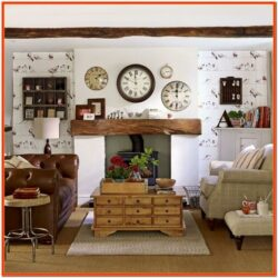 Country Living Room Decor
