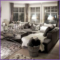 Cozy Modern Grey Living Room Decor