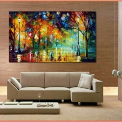 Creative Living Room Wall Art