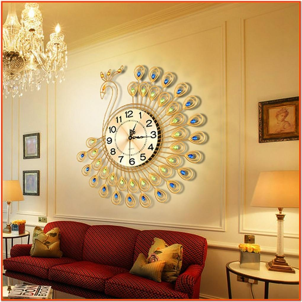 Creative Living Room Wall Clock