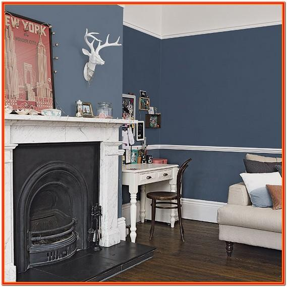 Dark Blue Living Room Decor