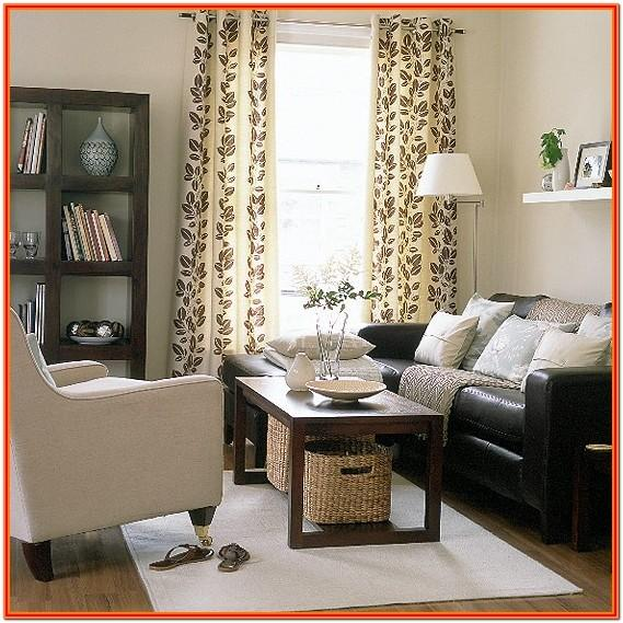 Dark Brown Furniture Living Room Decorating Ideas