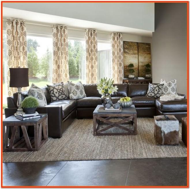 Dark Brown Living Room Decor