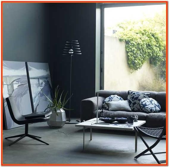 Dark Grey Living Room Decor