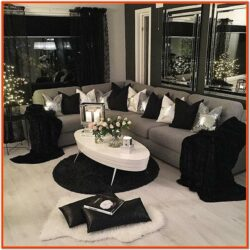 Decor Ideas For Living Room With Black Sofa