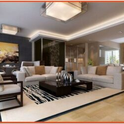 Decor Ideas For Rectangular Living Room