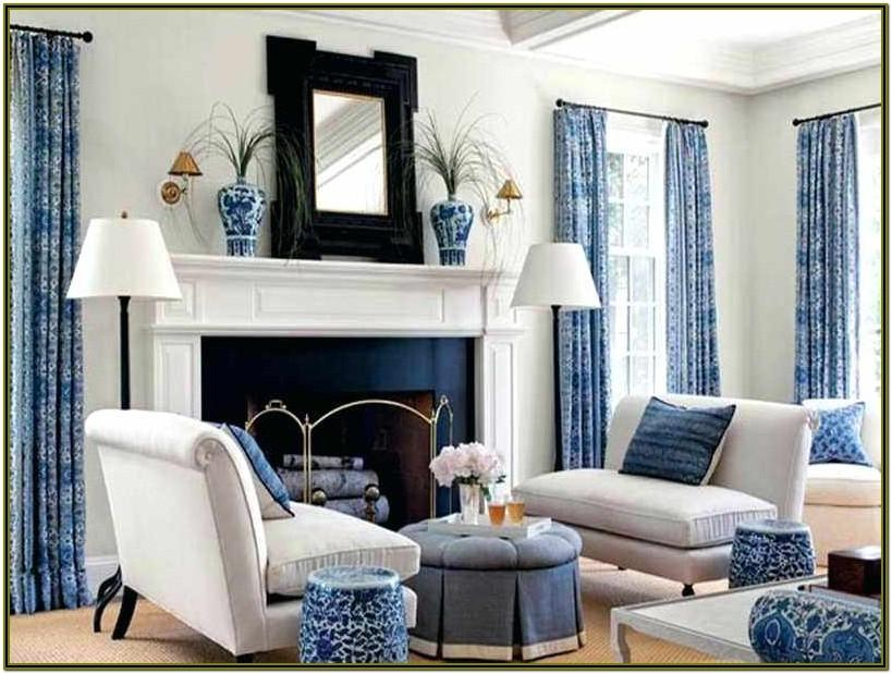 Decor Living Room White And Black