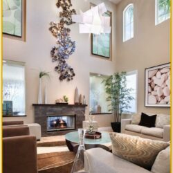 Decorate Large Living Room Wall