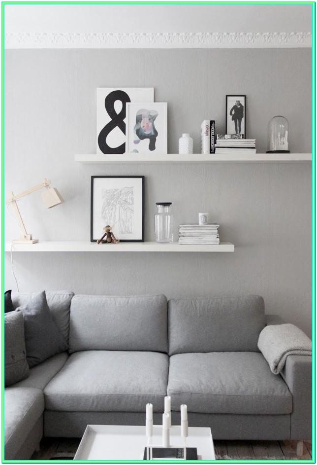 Decorate Living Room Shelves