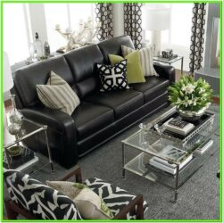 Decorate Living Room With Black Furniture