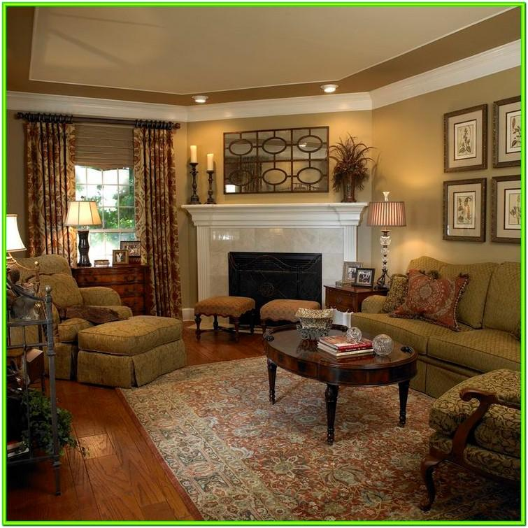 Decorate Living Room With Corner Fireplace