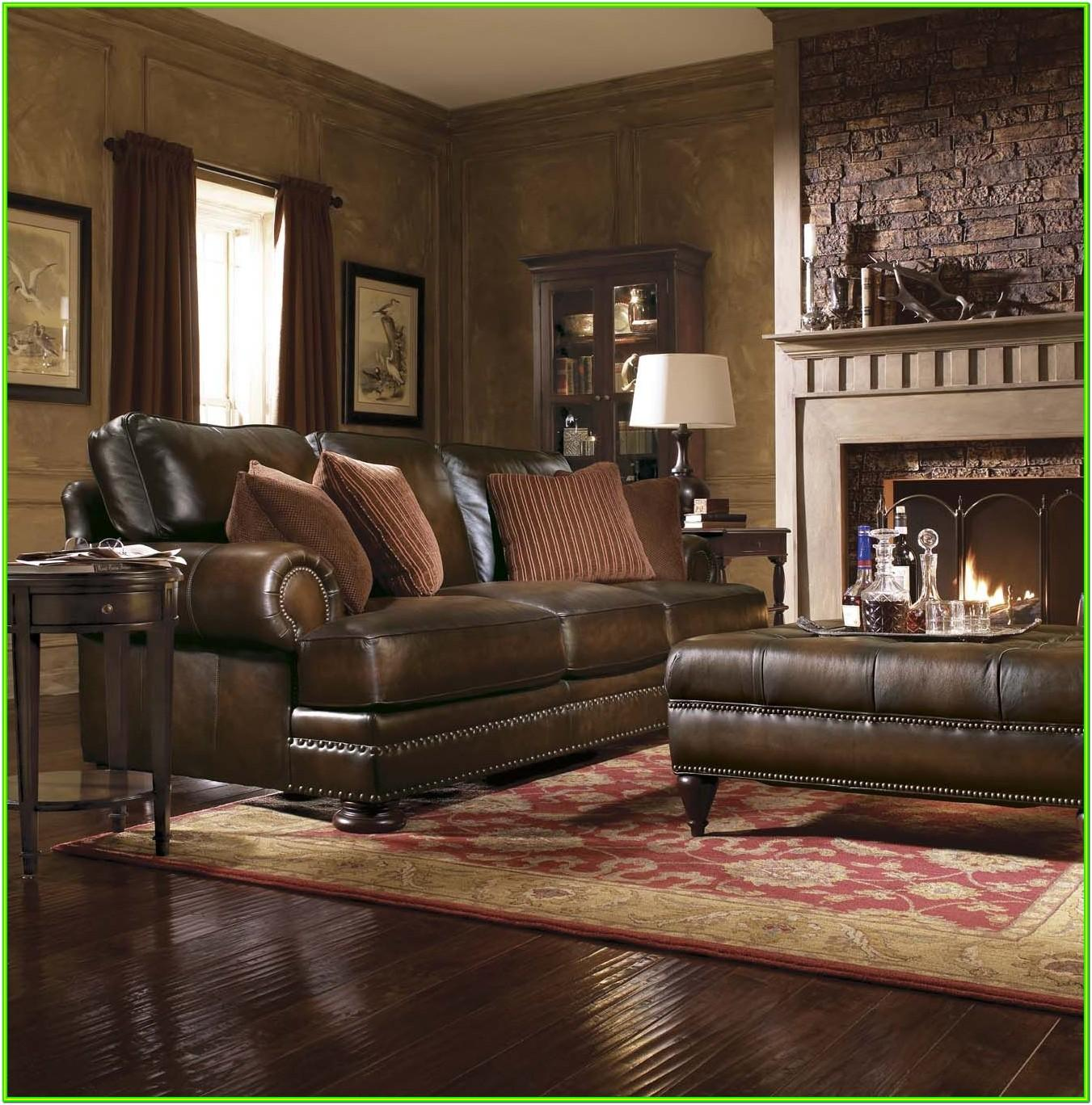 Decorate Living Room With Leather Furniture