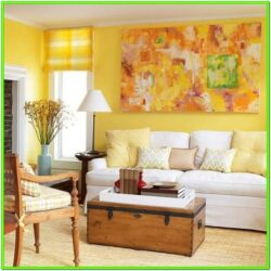 Decorate Living Room With Yellow Walls