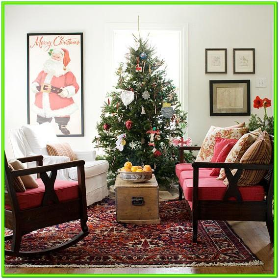 Decorate My Living Room For Christmas