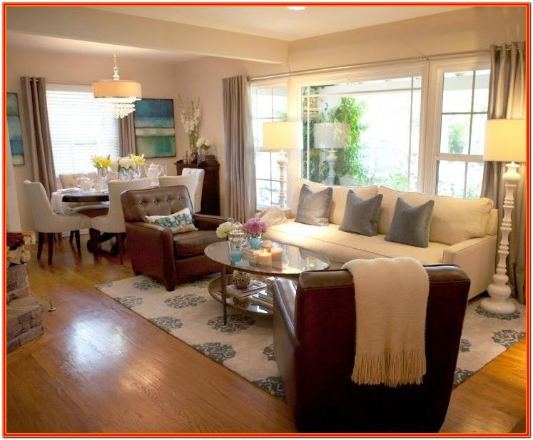 Decorate Rectangular Living Room