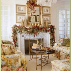 Decorated Christmas Living Rooms