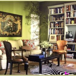 Decorating A Living Room With Green Walls