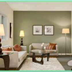 Decorating A Living Room With Olive Green Walls
