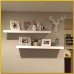 Decorating A Shelf In The Living Room