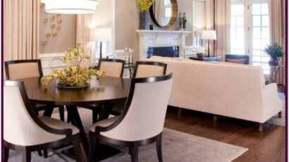 Decorating An Apartment Living Room Dining Room Combo